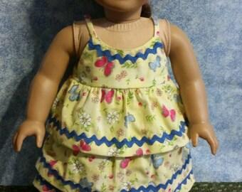 """18"""" Doll Shirt And Skirt"""