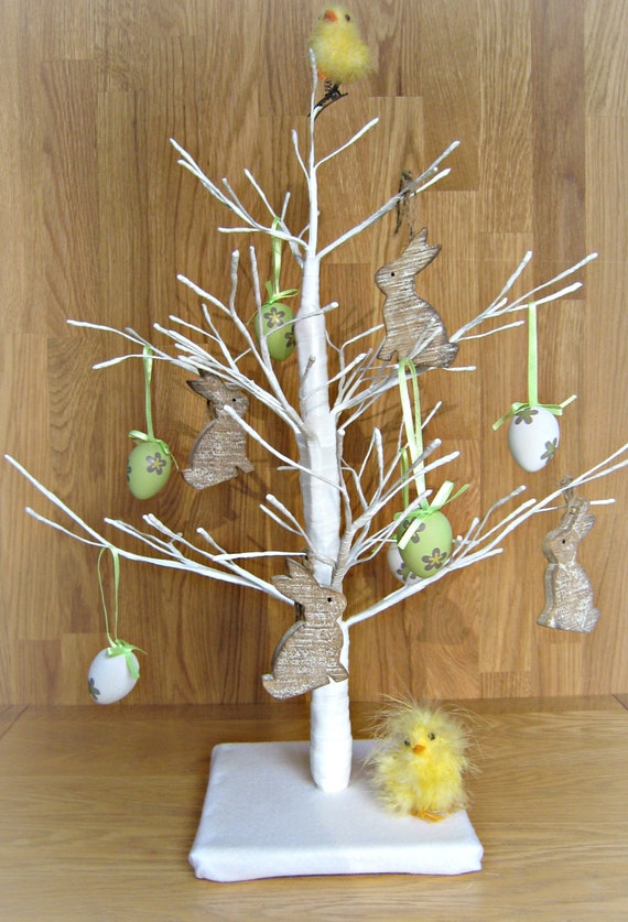 45cm White Twig Tree Perfect For Easter And By