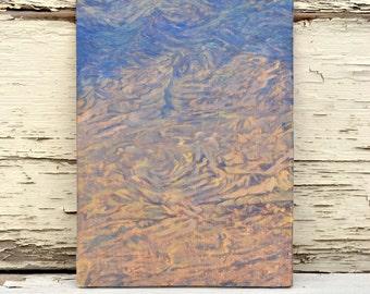 Mountain Range Oil Painting