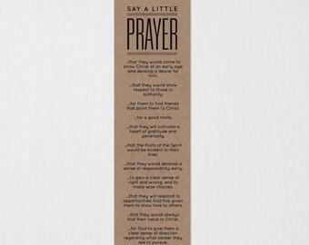 Prayer Bookmark (Kids)