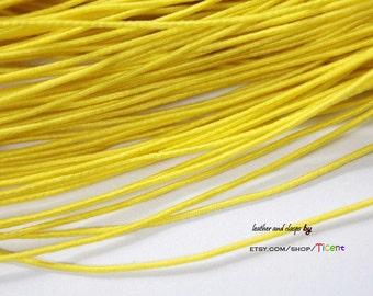 50 Yards 1mm Yellow Elastic String, 1mm Stretch Cords ES2525