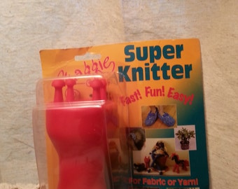 Sale Maggie Super Knitter Knitting Tool Fabric Knitter Yarn Knitter