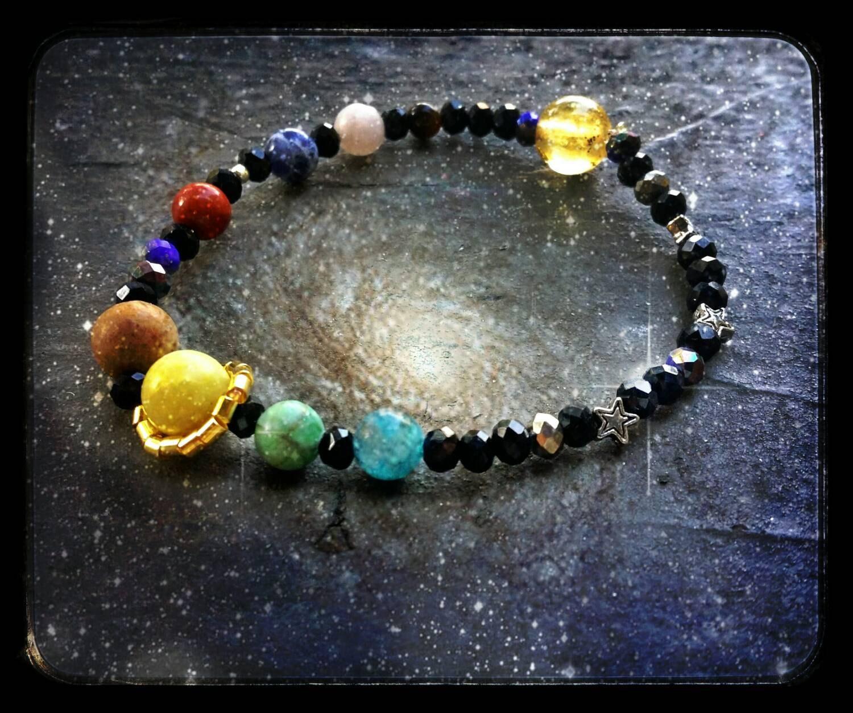 solar system bracelet - photo #7