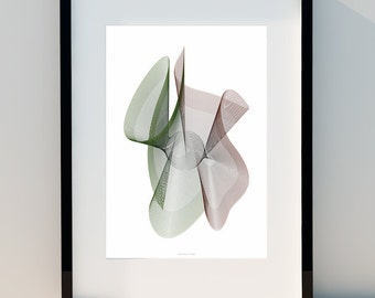 """Geometric poster """"Capture"""" art for home, poster, home, wall decor, print design, A2, A3 or A4"""
