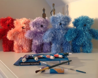 The Little Paintbox Bear.......perfect for stash busting