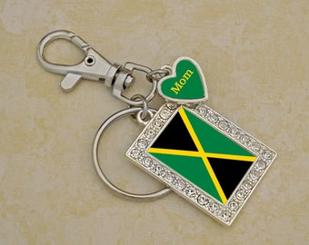 Custom Family Jamaica Keychain