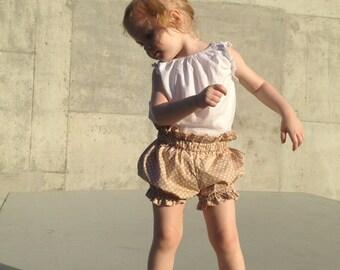 Baby Girls Butterscotch Bloomers