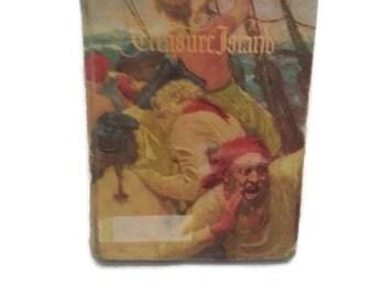 Vintage Book~Treasure Island~Robert Louis Stevenson~Classic