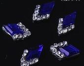 DIY Nail Art 3D Nail Decoration Elegant Crystal Shaped Alloy Nail Decoration Rhinestone Nail Art Nail Pearl Nail Supply Case Decoration