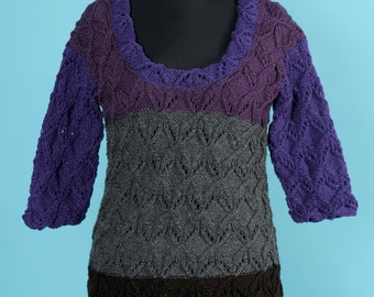Warm colored woolen tunic