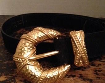 Linda Allard for Ellen Tracy Vintage Belt