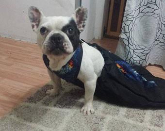 """Indoor """"Scootie Drag Bag for Disabled Pets Handicapped Pets, Paralyzed Pets, Special Needs Pets"""