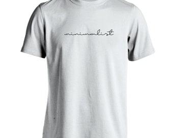 Minimalist Funny Art Humor Artsy Geek Nerd Men's T-Shirt Dt0435