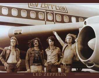 Led Zeppelin  Poster 24 x 36