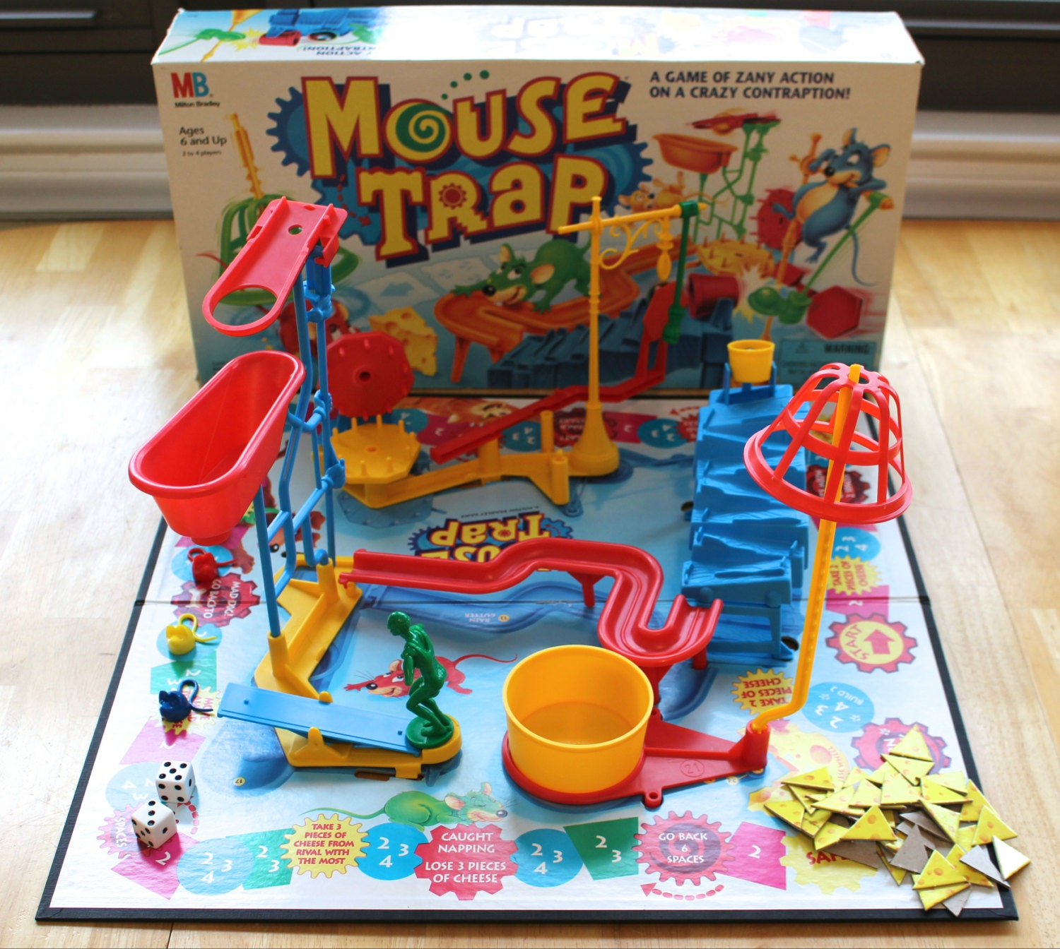 how to set up mouse trap board game