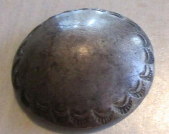 Vintage Sterling Silver Button