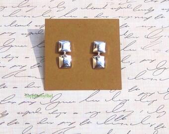 """POST Earring Cards (25) - 2"""" x 2"""" - Kraft, Black, White, Ivory"""