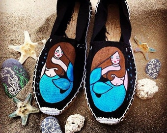 "ESPADRILLE ""MERMAID & SEA"""