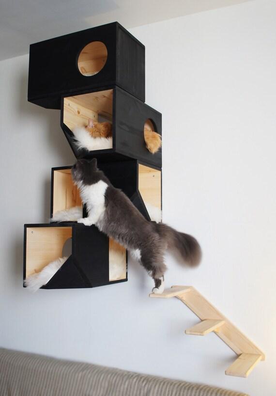 chelle pour chat arbre. Black Bedroom Furniture Sets. Home Design Ideas