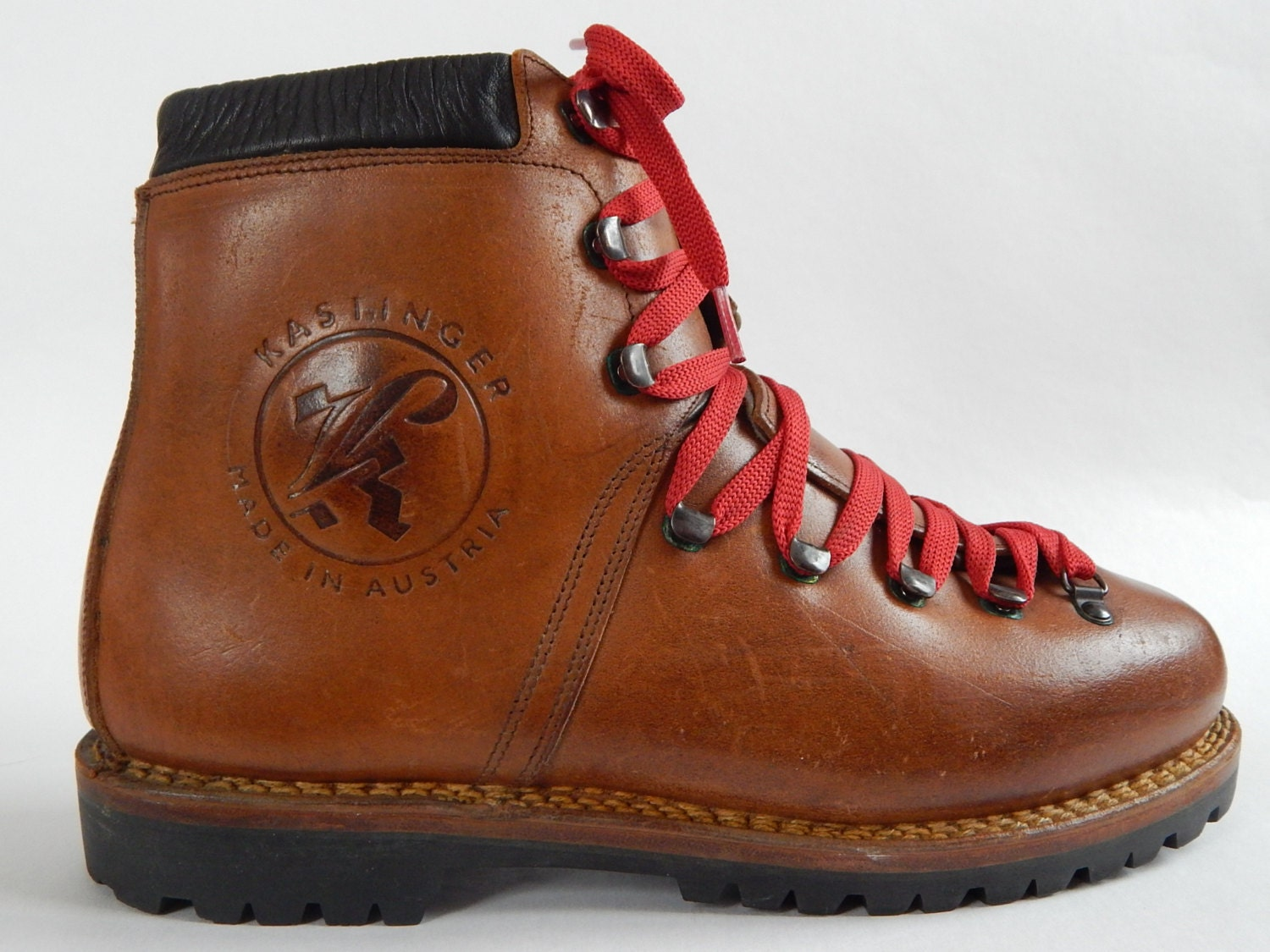 Vintage Mountaineering Boots Kastinger Leather Mountain Hiking