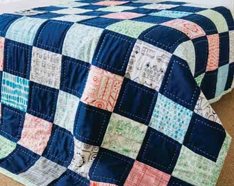 Easy Patchwork Quilt Video Tutorial (810146)