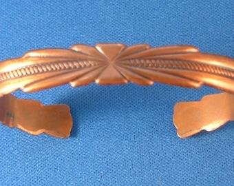 Vintage Copper Bracelet, vintage jewelry, vintage copper, vintage fashion at JenKatsAlley