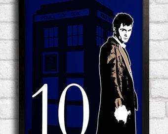 Dr Who Minimalistic Art
