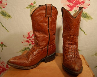 end of summer sale Vintage Made in Mexico Caymen Cowboy Boots