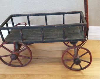 Antique wood wagon