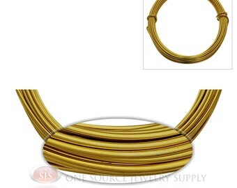 Light Gold Aluminum 12 Gauge Craft Wire For Wrapping Wire & Jewelry Work 39 Feet 11.8 Meters (Free Shipping USA)