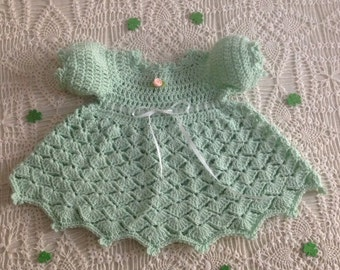 Newborn Baby Dress PATTERN Olivia