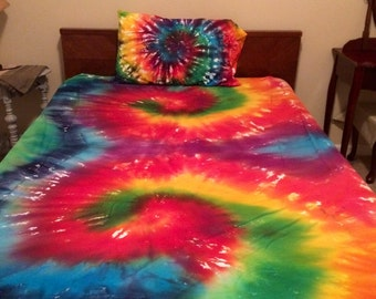 Tie Dye Sheet Sets Bedroom