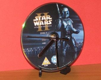 Starwars attack of the clones dvd clock