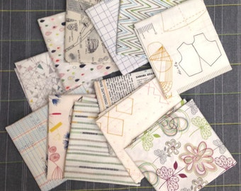 Assorted Low Volume Fat quarter bundle