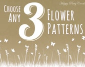 Pick Any 3 Patterns - Bundle Deal - Get a discount for Three Patterns of your choice