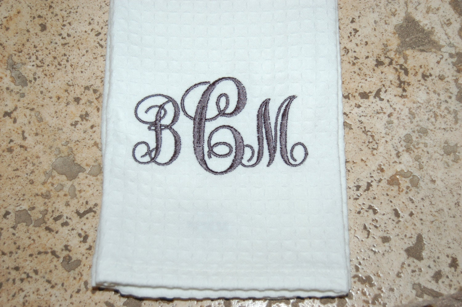 Monogrammed Kitchen Towels Free Shipping