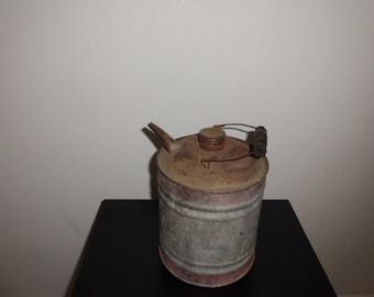 Vintage Delphos  Oil/ Gasoline Can