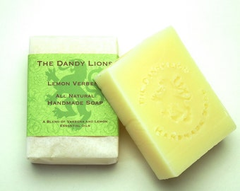 Lemon Verbena Soap enriched with Shea Butter
