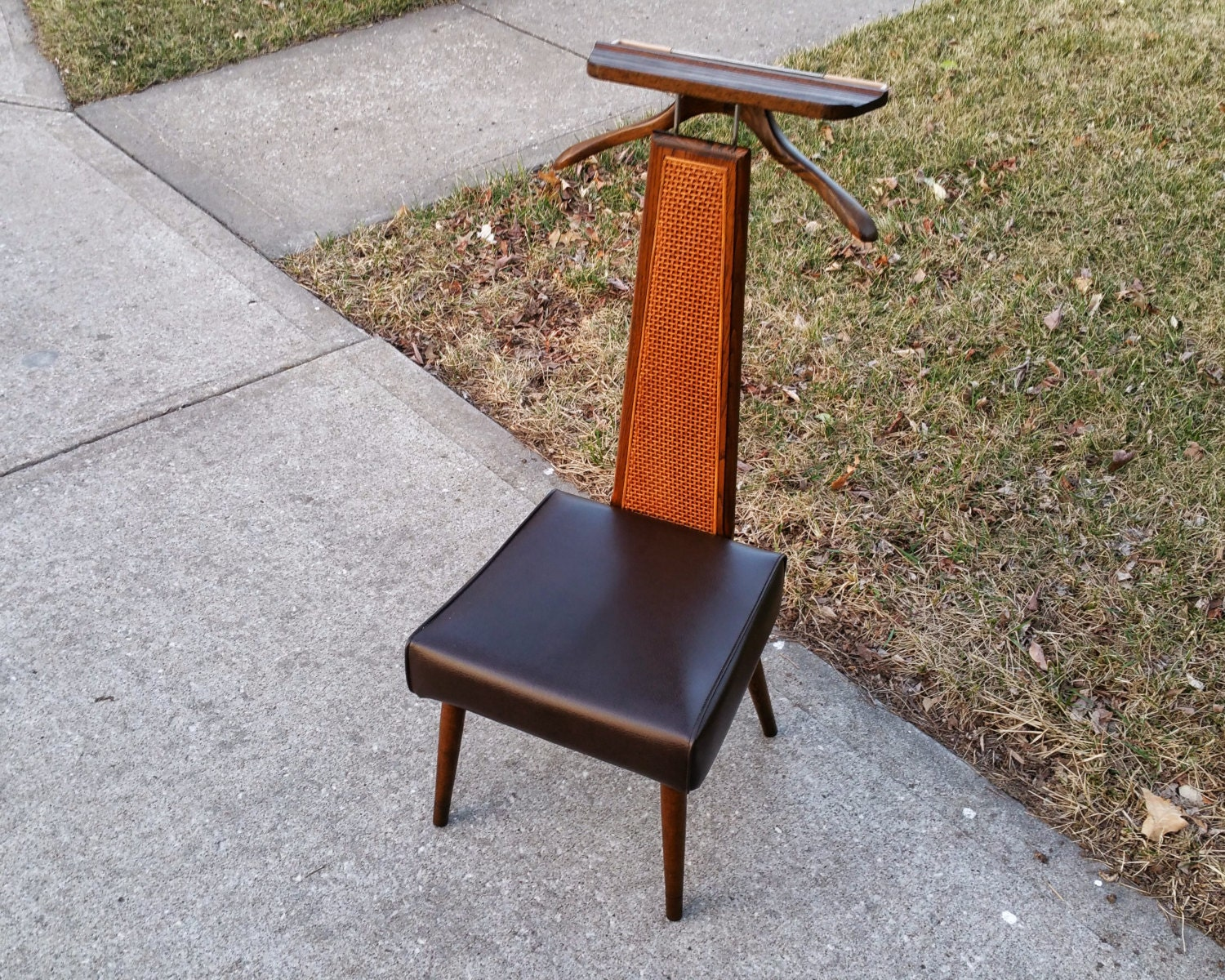 Mid century modern men s valet butler dressing chair haute juice