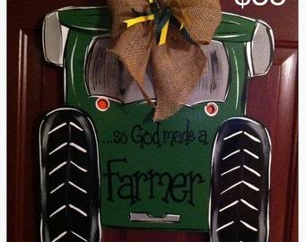 John Deere Tractor Door Hanger