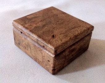 Walnut Burl Box #B15
