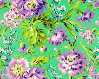 Amy Butler - Love Bliss Bouquet Emerald (Half metre)