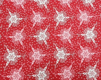 Triflora in Lipstick - Loulouthi by Anna Maria Horner - 1 yard cotton fabric