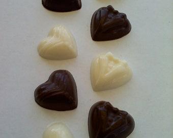Heart Shaped Wedding Chocolates
