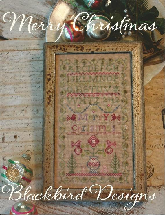 BLACKBIRD DESIGNS Merry Christmas Primitive