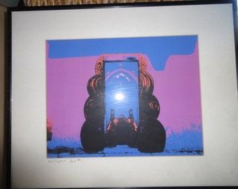 Signed Artist Print Framed/Numbered