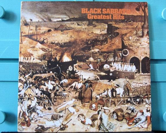 Black Sabbath - Greatest Hits Vinyl Record