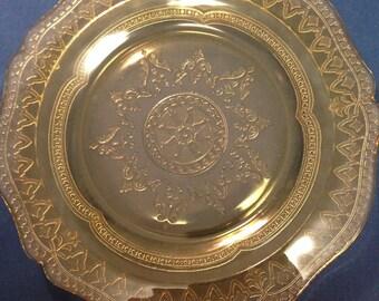 """Patrician """"Spoke"""" Luncheon Plate"""