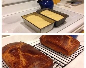 Fresh Brioche Bread Loaf