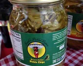Bread and Butter Pickle Chips